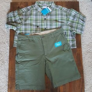 Colombia Shorts NWT